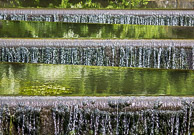 Grand Union Canal Weir at back of Elthorne Park