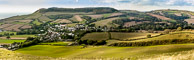 Chideock Dorset from Quarry Hill